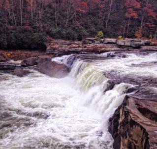Waterfall | Christina Skis | Instagram